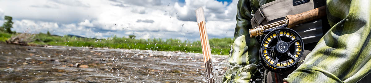 Guide for fishing equipment for Montana