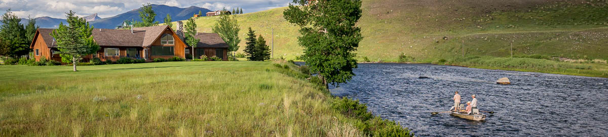 Montana fishing lodges and lodging options glacier to for Montana fishing lodges