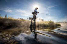 Yellowstone national park fly fishing guide montana
