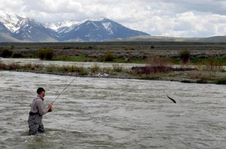 mountains fly fishing montana guided trip adventure