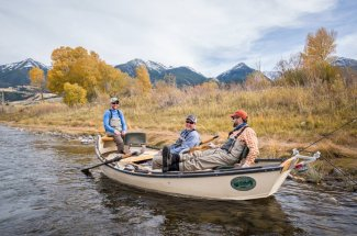 montana angler float trip fly fishing guided trip