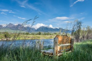 mountains river montana fly fishing guided trip
