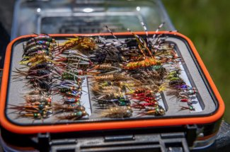 flies guided trip montana fly fishing float