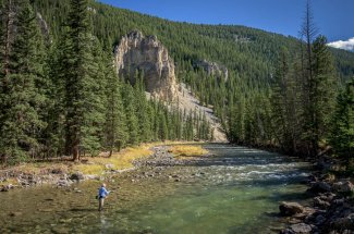 Montana Angler Wade Fishing Trips on the Gallatin River