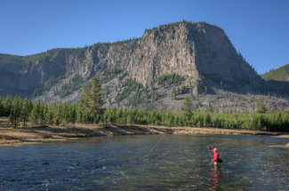 Montana Angler offers guided fishing trips on the Madison River in Yellowstone National Park