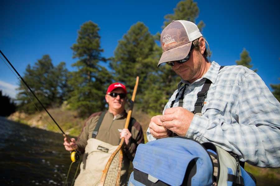 Nymph Fishing in Montana