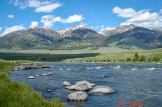 river fly fishing montana yellowstone guided trip adventure
