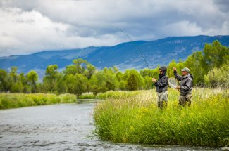 creek stream river fly fishing montana guided trip yellowstone national park