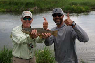 guided fly fishing trip montana adventure