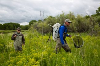 hiking fly fishing montana guided trip