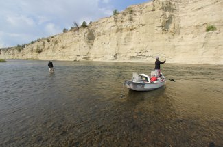 fly fishing montana guided trip river adventure