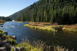 adventure fly fishing montana guided trip trout