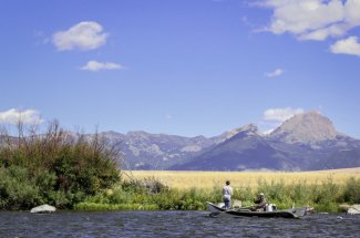 montana mountains fly fishing river guided trip