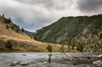 montana angler float trip trout fly fishing guided trip