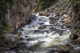 roaring river fly fishing montana back country guided trip