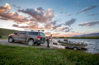 drift boat guided trip float montana river