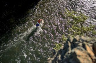 river riffle fly fishing adventure montana guided trip